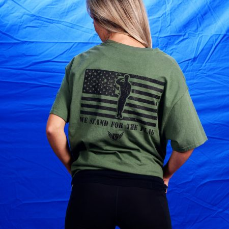 Vet Gear - We Stand For The Flag