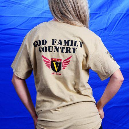 Vet Gear - God Family Country
