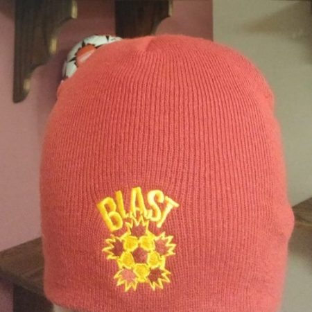 Blast Red Winter Hat w/o Cuff